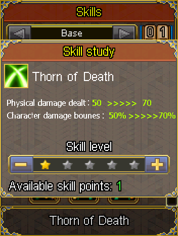 Thorn of death skill development.png
