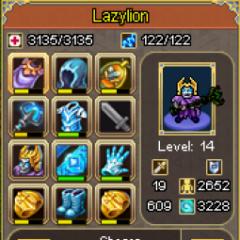 Lazylion